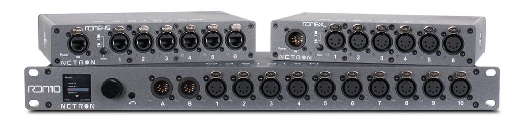 Netron DMX-Splitter Obsidian Control Systems
