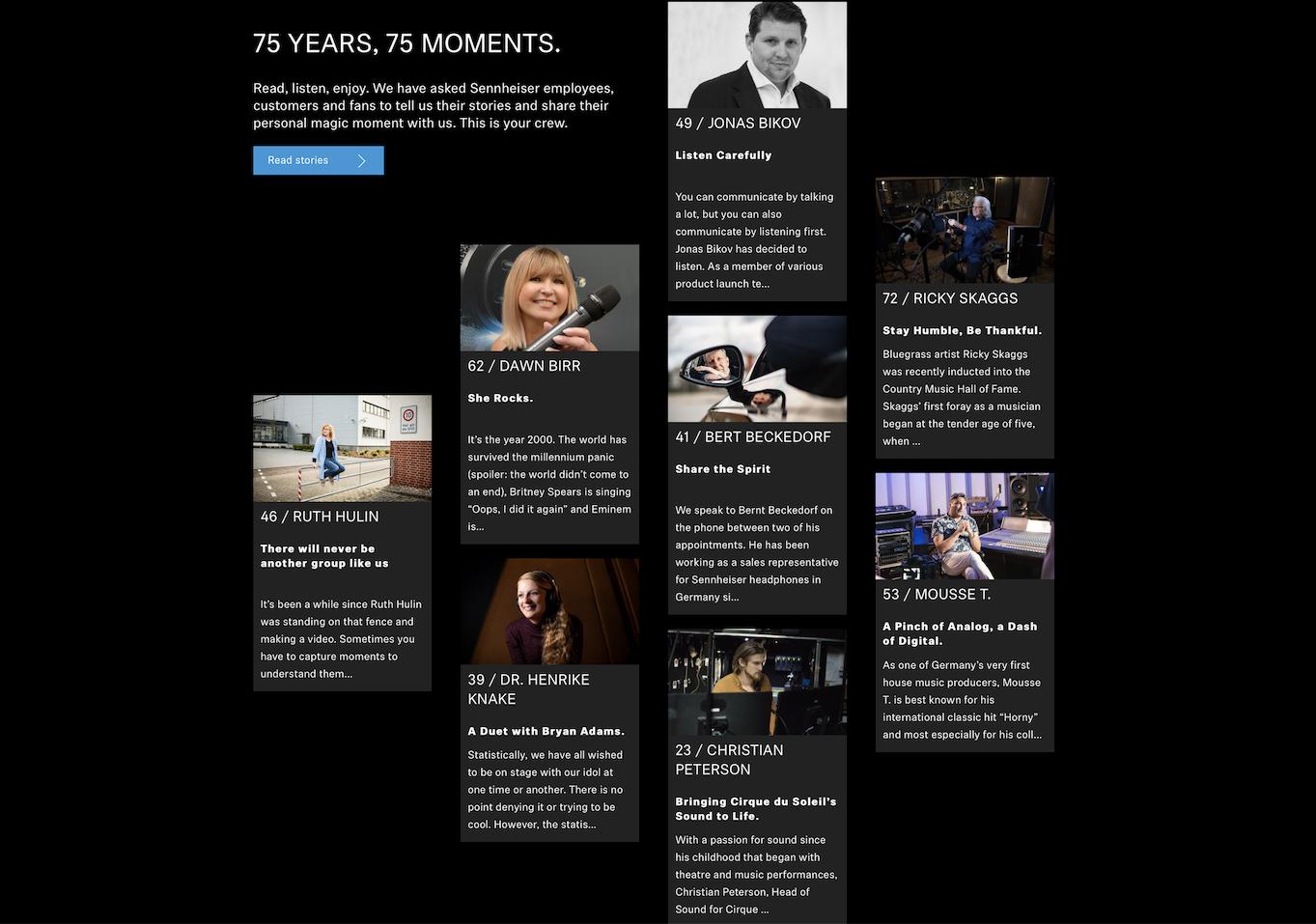 75 Sennheiser-Momente
