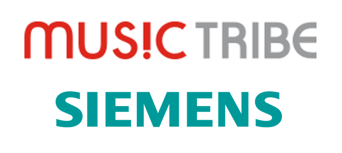 Music Tribe & Siemens Logo