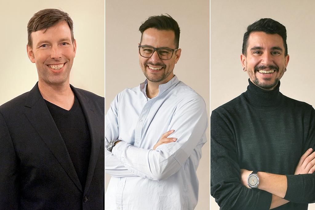 v.l.n.r.: Fabian Rothe, Jens Anlauf-Miura und Mert Fidansoy