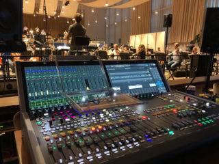 Lawo mc² Pult im Opernhaus Zürich