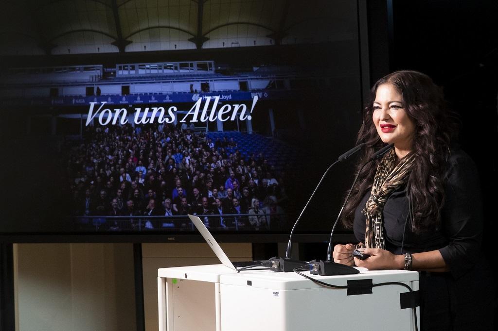 Dörte Spengler-Ahrens bei der ADC Jahreshauptversammlung 2020