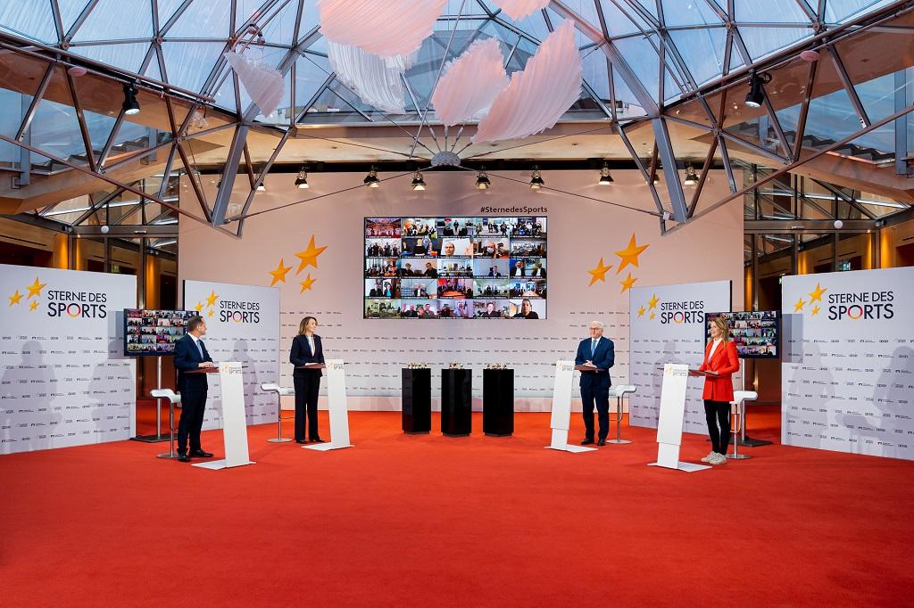"""Preisverleihung """"Großer Stern des Sports"""" 2020/21"""
