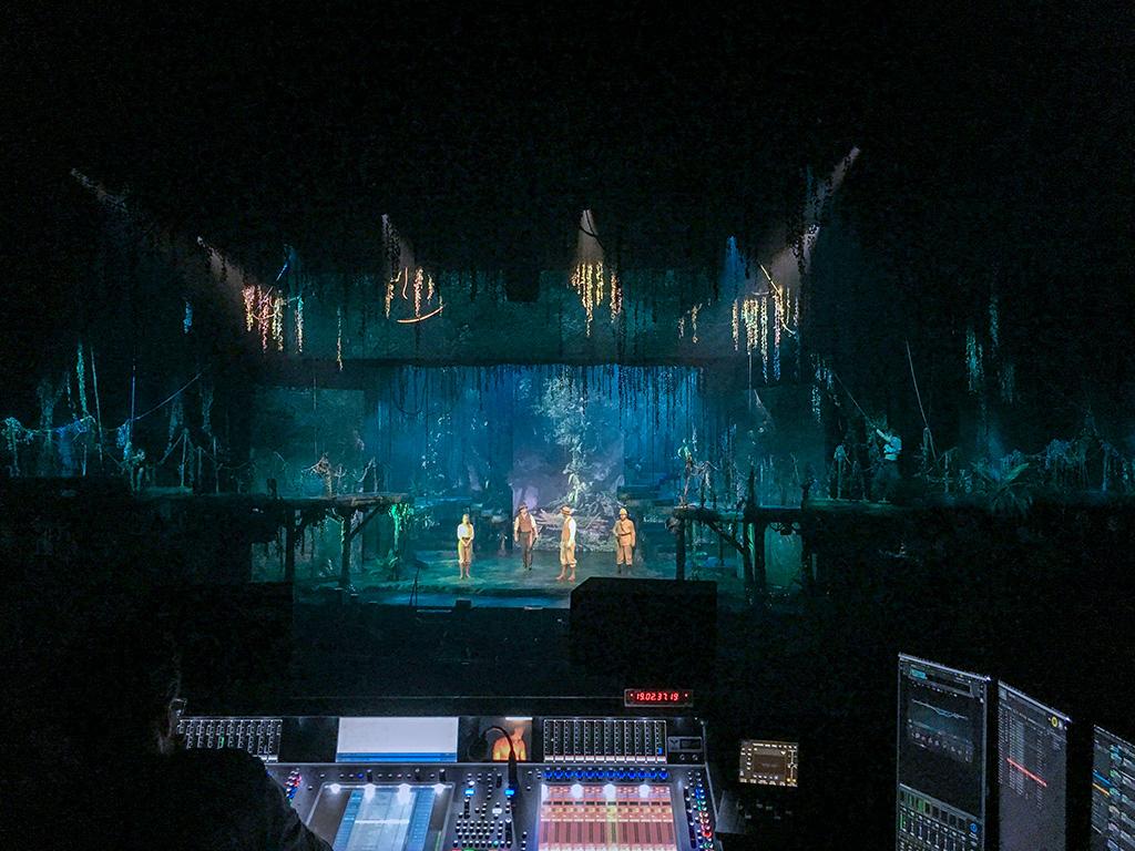 Riedel Bolero Intercom European Tour Production Denmark