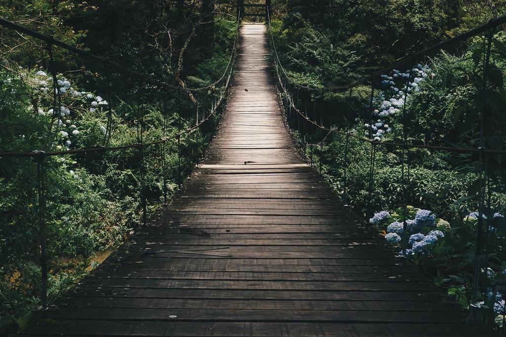 Weg-Zukunft-Brücke