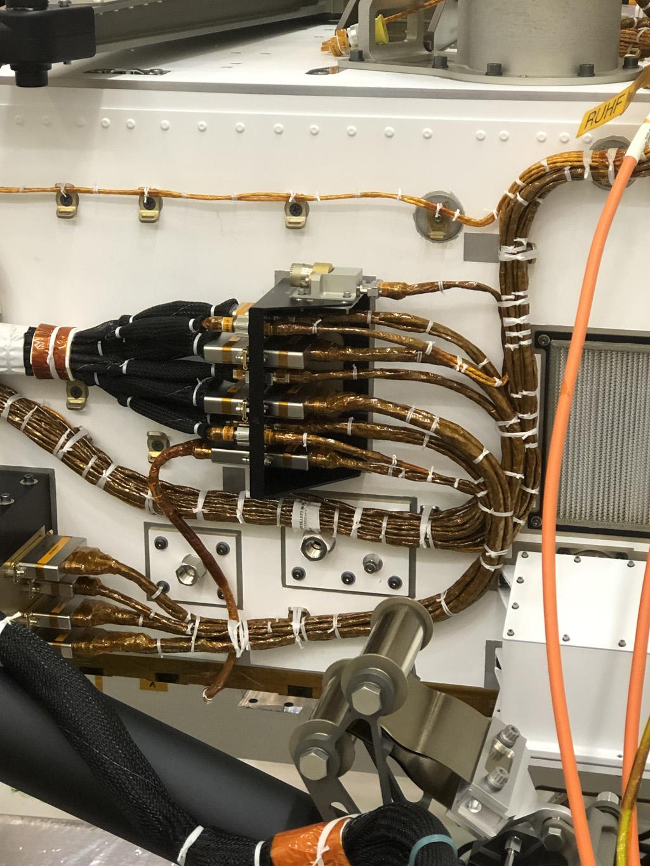 Mikrofon am Mars Rover