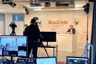Virtuelles Live-Streaming einer Genossenschaftsbank