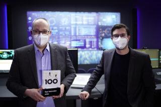 Roland Ollek und Nils Strauch Top-100-Award