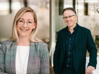 Stefanie Niederwimmer & Harry Gladow