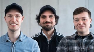 (v.l.n.r.): Thomas Toth, Konstantin Boukouras und Tomasz Wojcik