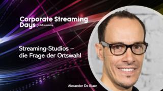 Alexander De Blaer Corporate Streaming Days