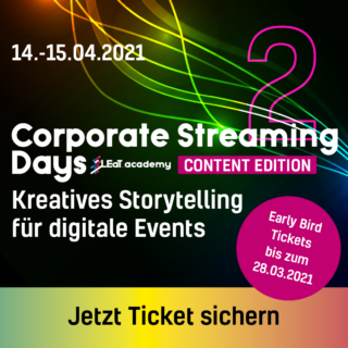 Corporate Streaming Days 2: Content Edition