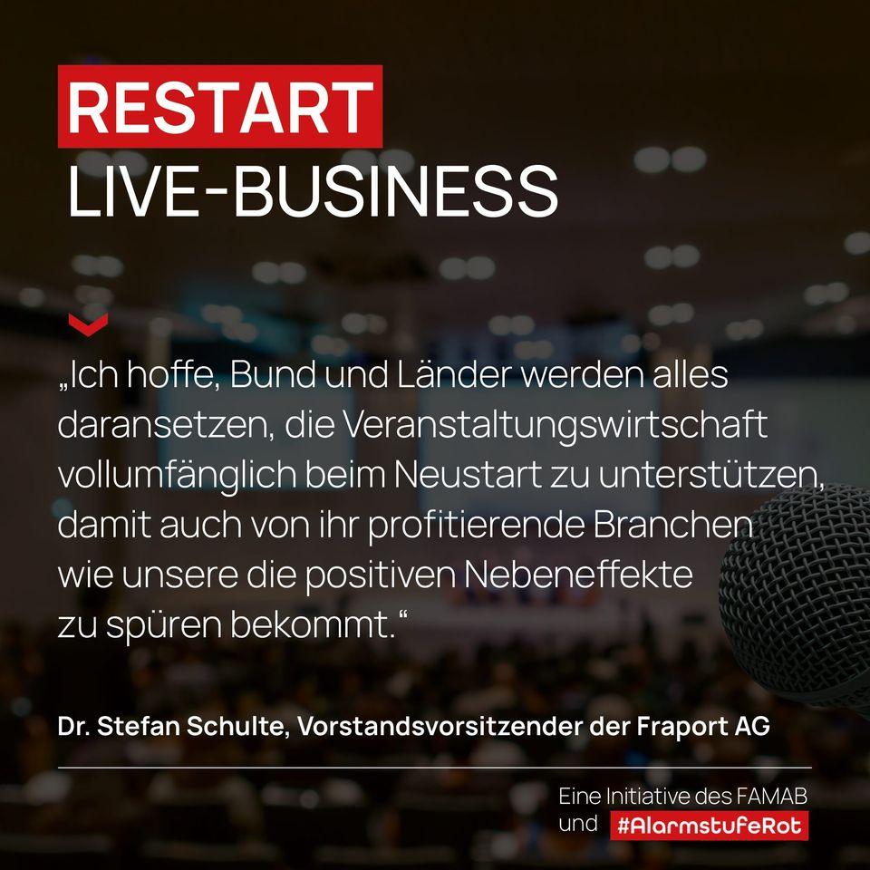 Kampagne Restart-Live-Business
