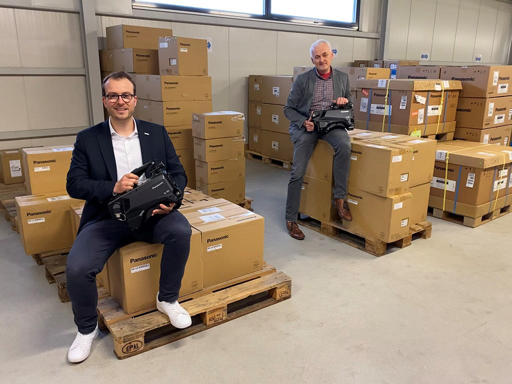 Lang AG investiert in Panasonic AK-UC4000 Studiokamera