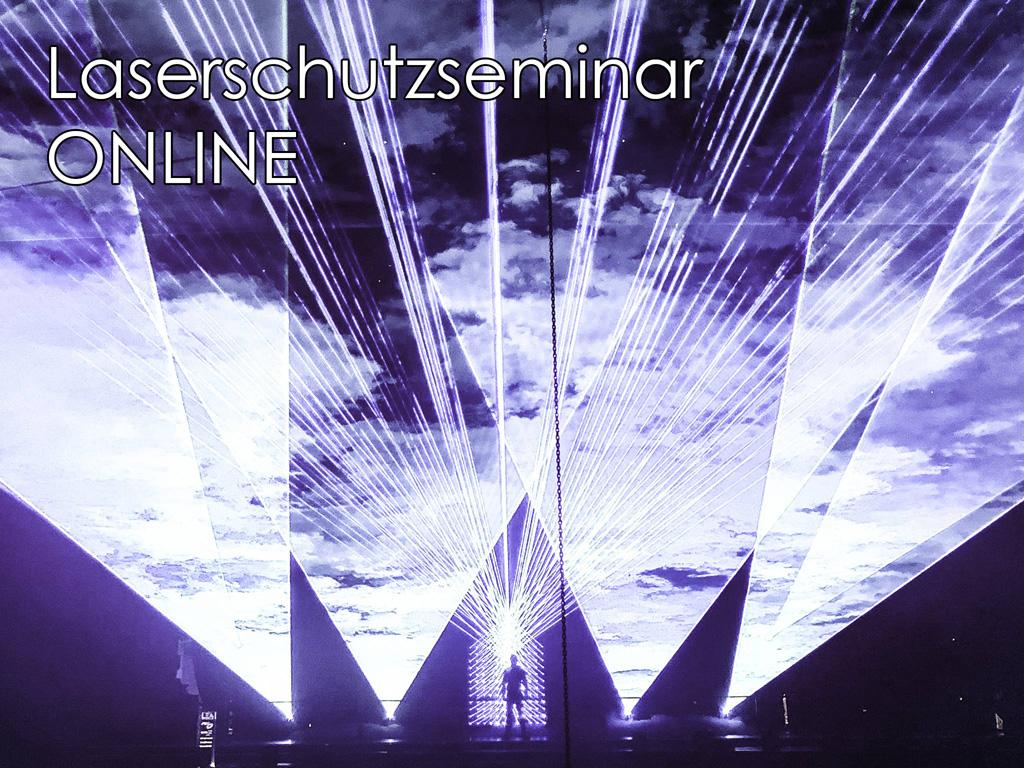 Laser auf der Bühne