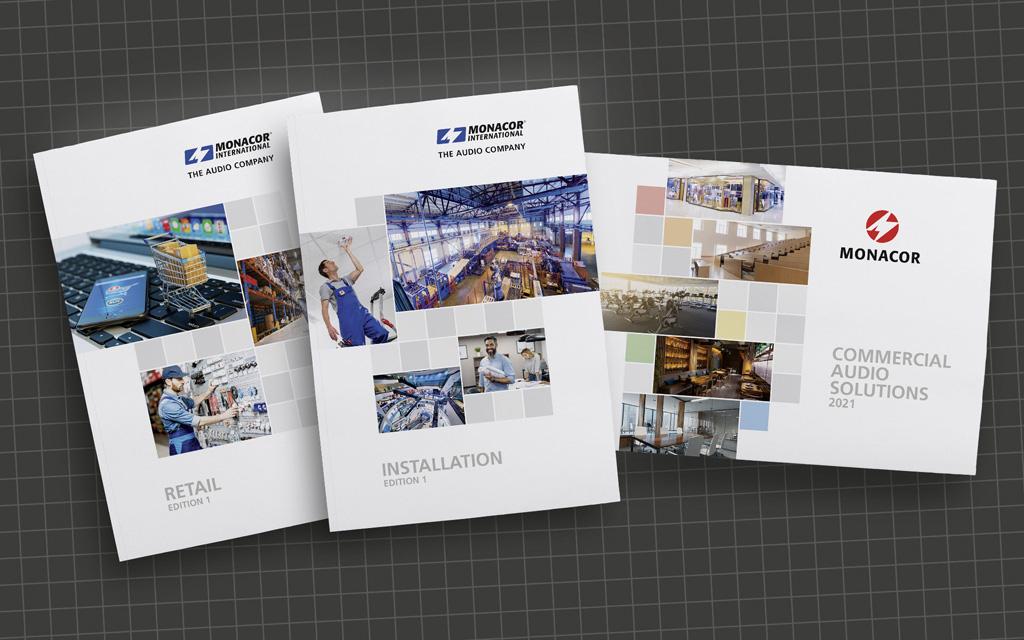 Kataloge von Monacor