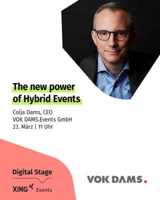 XING Events Digital Stage_Colja Dams