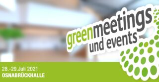 greenmeetings und events Konferenz 2021