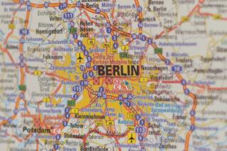 Berlin-Landkarte
