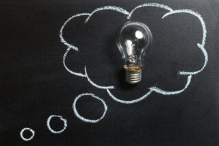 Gedanken-Idee-Kreativ