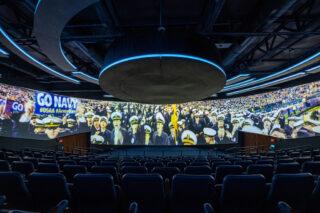 Projektion im Kinosaal