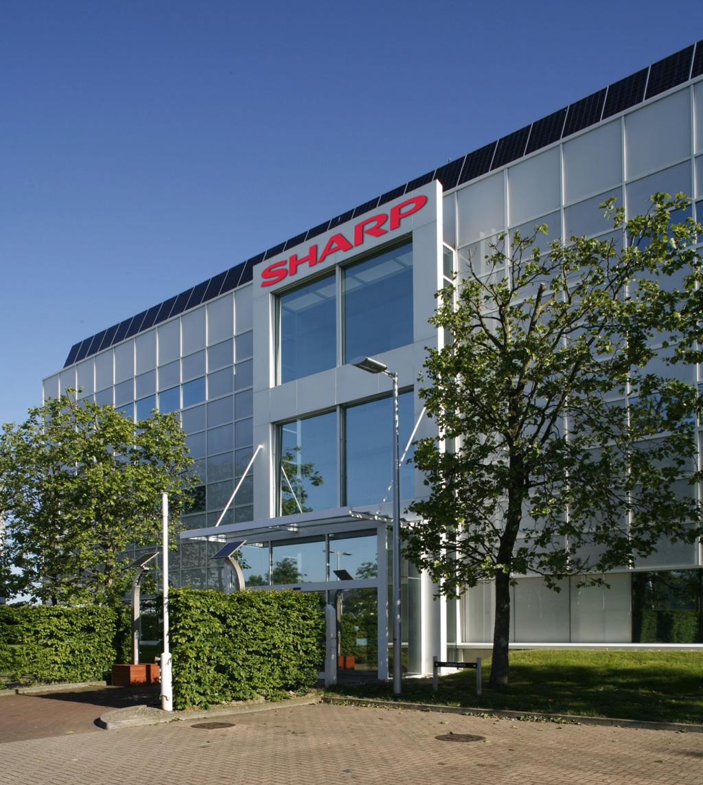 Sharp Hauptsitz in London