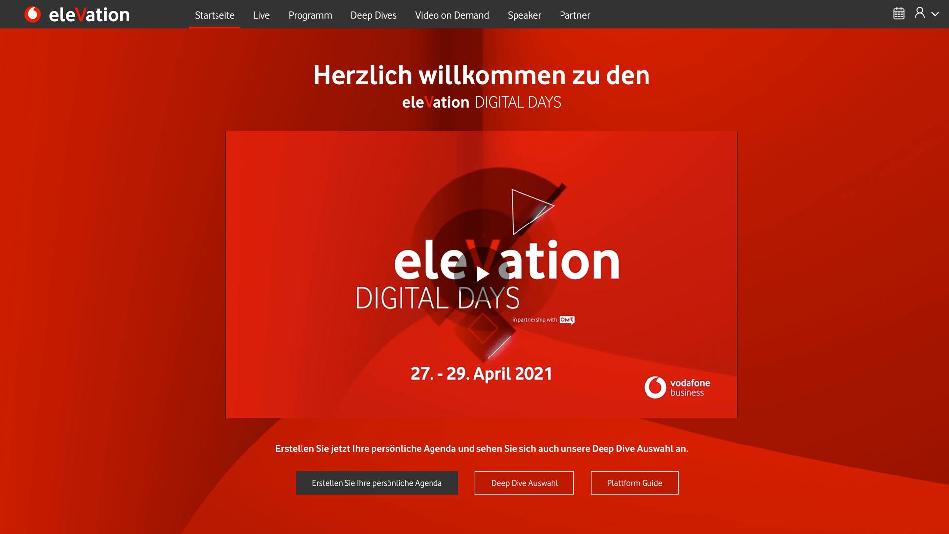 elevation Digital Days 2021