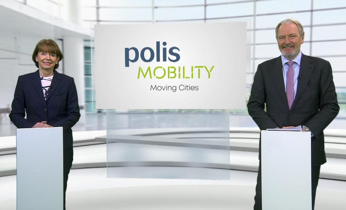 Eröffnungs-Pressekonferenz der polisMobility 2022: Henriette Reker und Gerald Böse