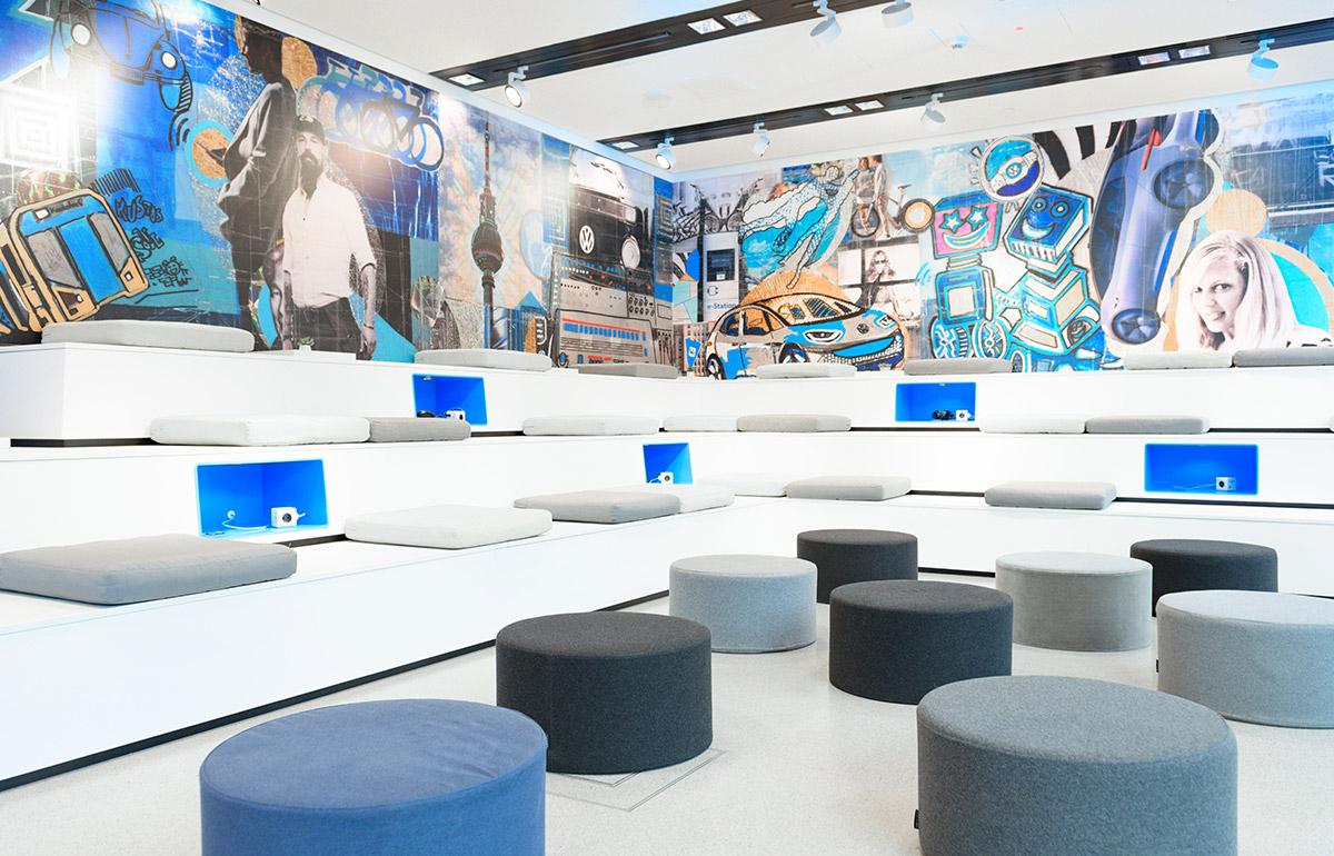 Store-Konzept Volkswagen We Space