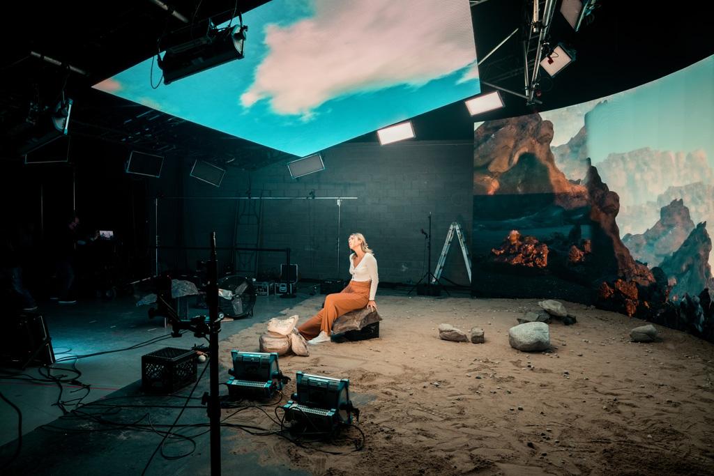 LED-Screens für Videoproduktionen