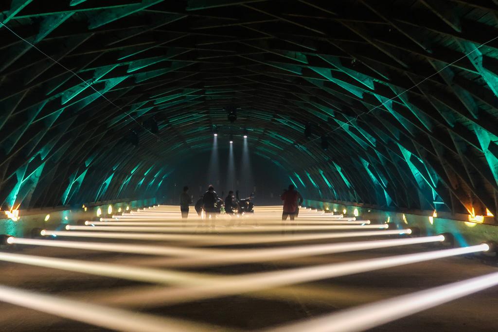 Lichtdesign für Musikvideo