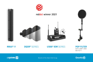 Red Dot Award 2021 Adam Hall
