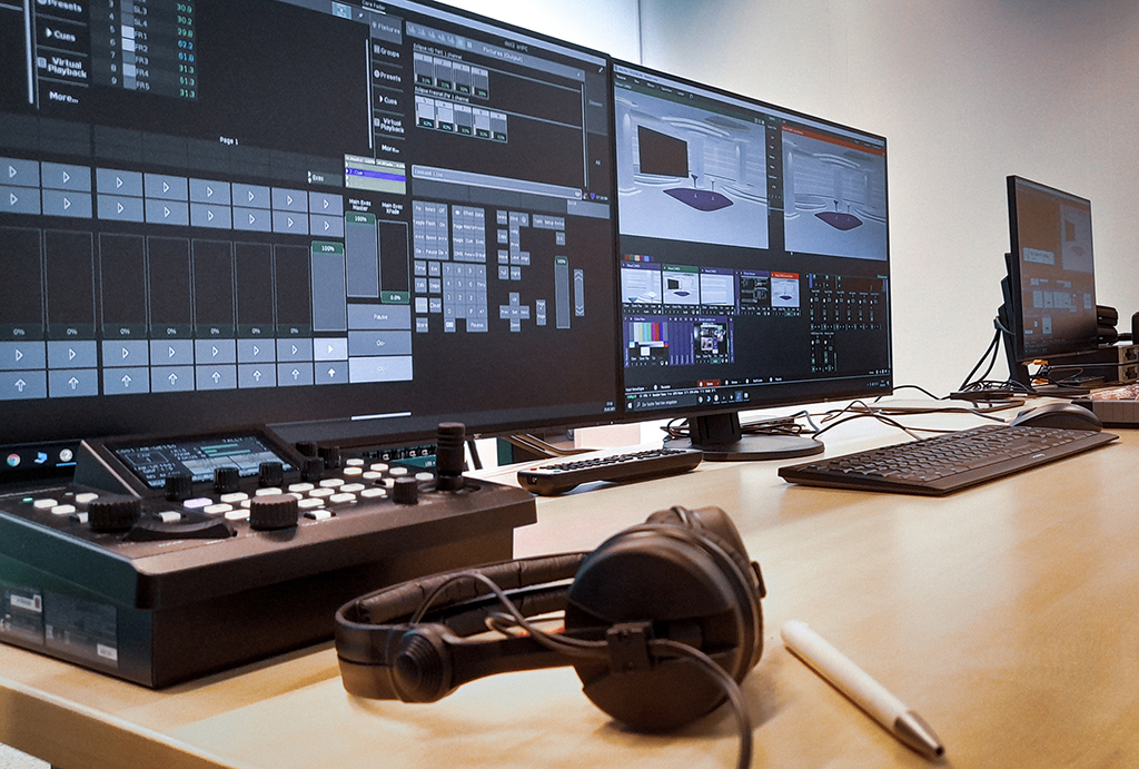 Greenscreen-Studio Ideal Versicherung MCI