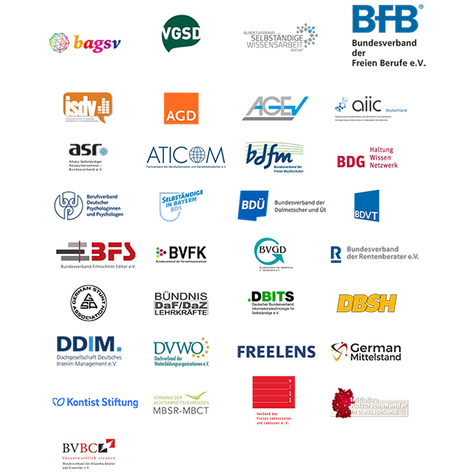 Logos-Verbände-offener-Brief-Selbstständigkeit