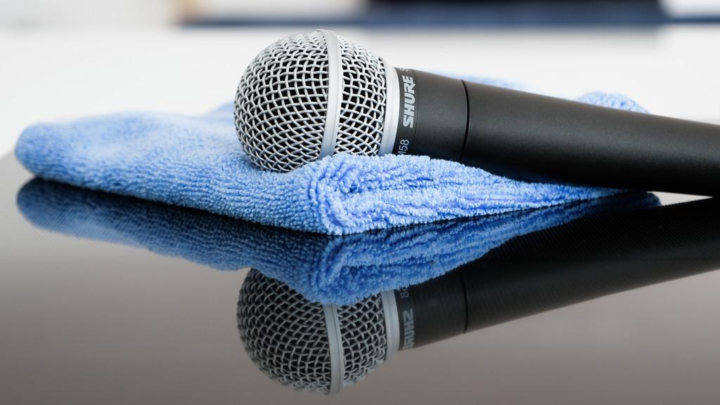 Shure Mikrofonreinigung
