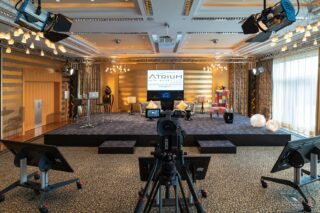 Streaming-Studio im Atrium Hotel Mainz (WorldHotels Collection)
