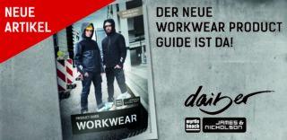 Der neue Workwear-Katalog 2021 von James & Nicholson und myrtle beach
