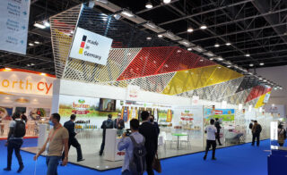 Deutscher Gemeinschaftsstand auf der Gulfood 2021 in Dubai