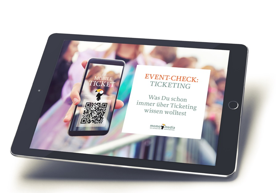 event check ticketing memo media
