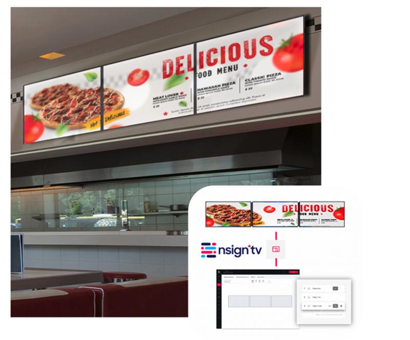 Digital Signage in der Gastro