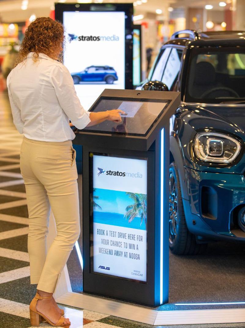 Digital Signage im Autoverkauf
