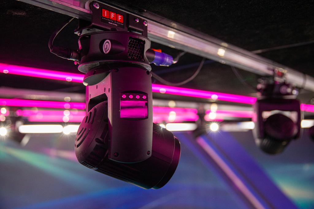 GLP Leuchten im TV-Studio