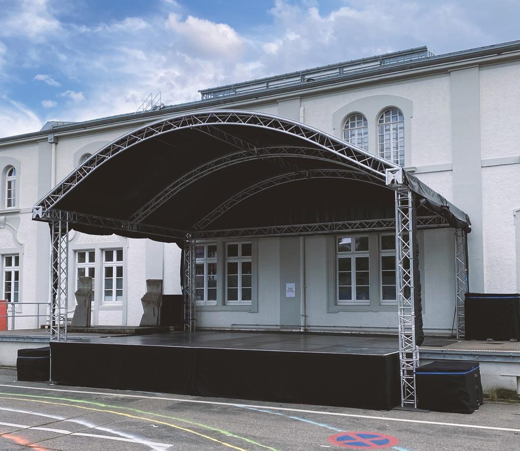 Truss-Bühne