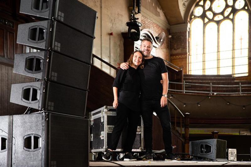 Julie Cotton und Nick Gosling