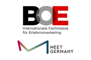Logos BOE und Meet Germany