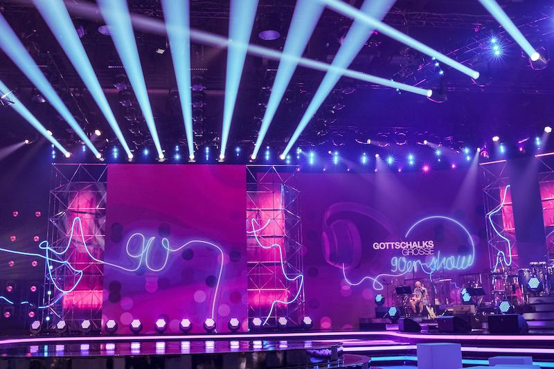 GLP Licht im TV Studio