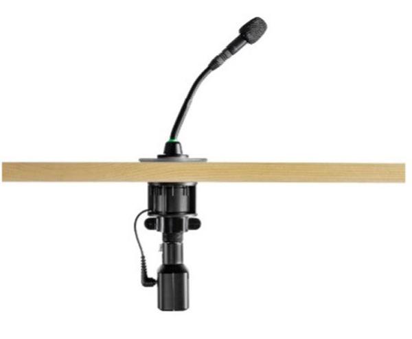 Stummschalttaste am Mikrofon
