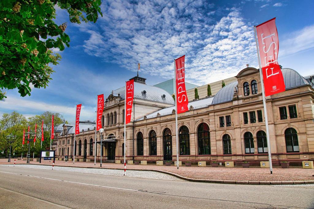 Außenansicht Konzerthaus Baden Baden