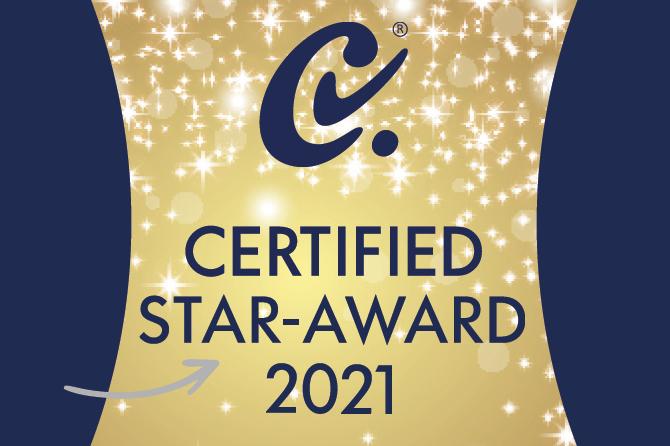 Certified Award 2021