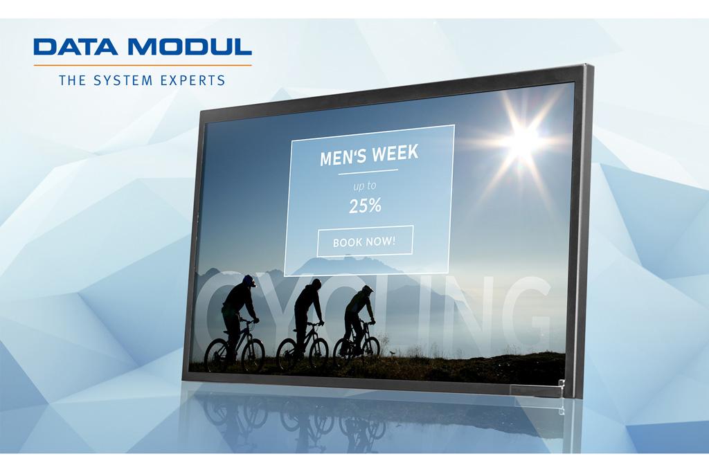Monitor von Data Modul